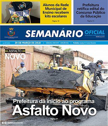 Semanário Oficial - Ed. 851