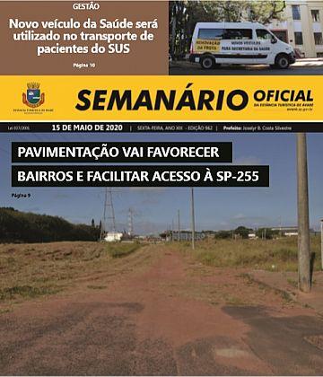 Semanário Oficial - Ed. 962