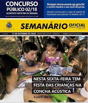 Semanário Oficial - Ed. 879