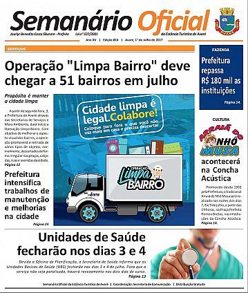 Semanário Oficial - Ed. 824