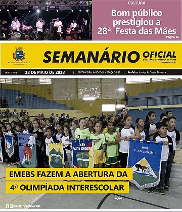 Semanário Oficial - Ed. 858