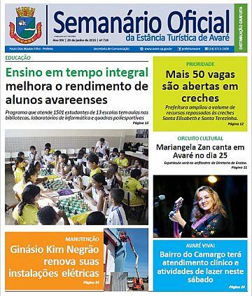 Semanário Oficial - Ed. 724