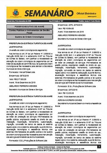 Semanário Oficial - Ed. 517