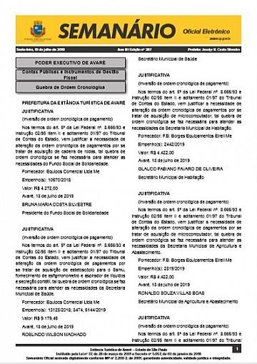 Semanário Oficial - Ed. 387