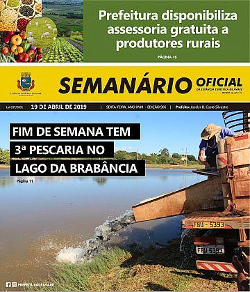 Semanário Oficial - Ed. 906
