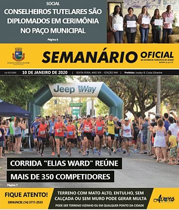Semanário Oficial - Ed. 944