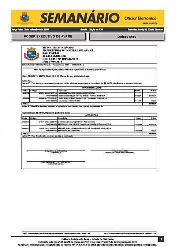 Semanário Oficial - Ed. 439